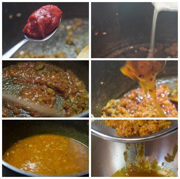 coronation chicken - sauce