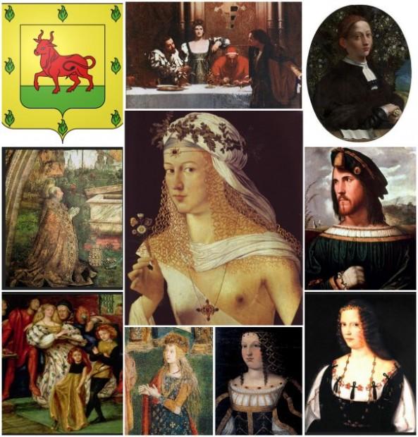 Lucretia Borgia-family