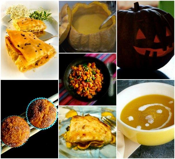 συνταγές με κολοκύθα για halloween