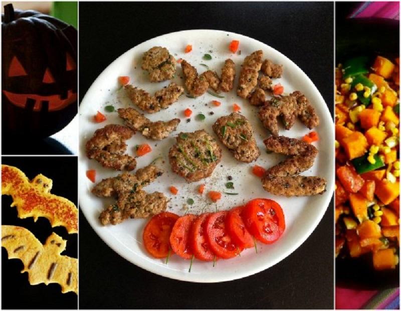 συνταγές με κολοκύθα, εντόσθια, φάρσες και halloween
