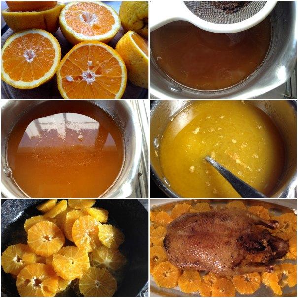 πάπια με πορτοκάλι