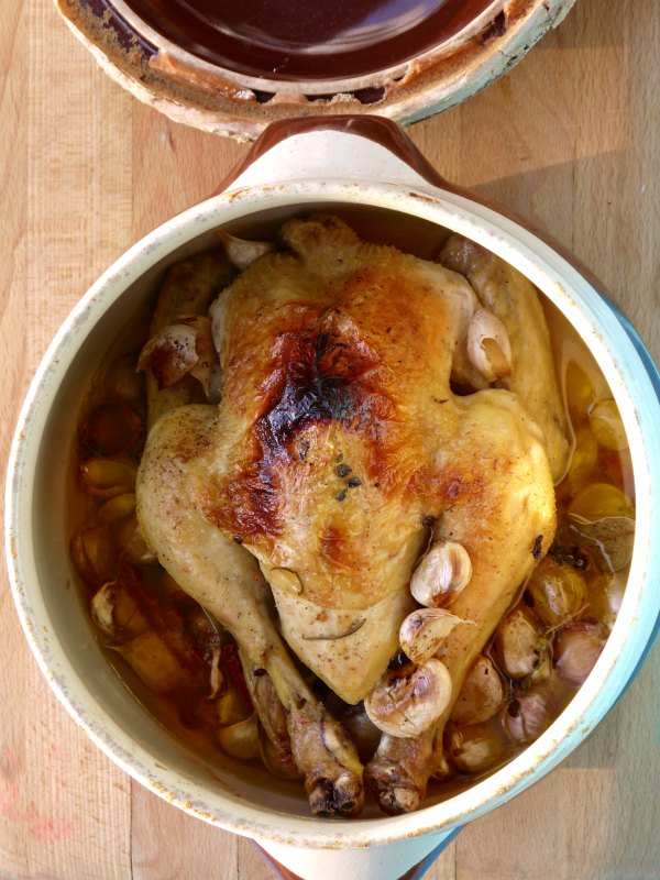 κοτόπουλο με 40 σκόρδα