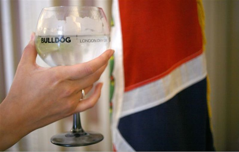 Bulldog Gin and Tonic