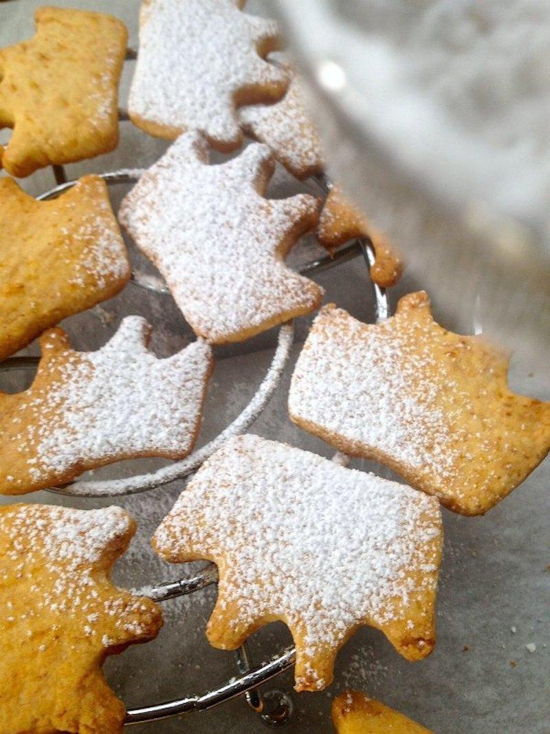 Μπισκότα - μπισκότα με λεμόνι χωρίς γλουτένη