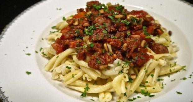 sausage ragout recipe
