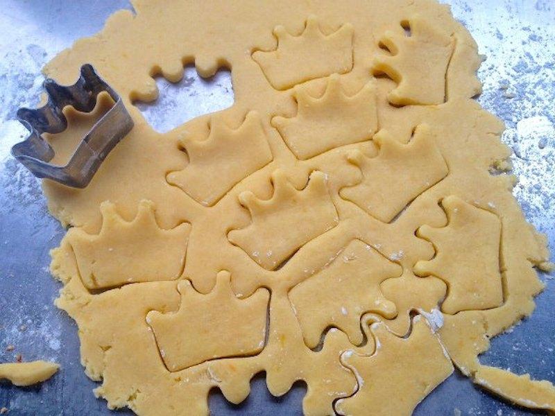 μπισκότα με λεμόνι, ζύμη