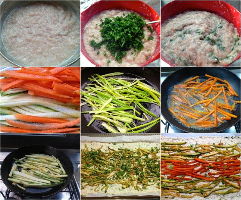 ρολό κοτόπουλο με λαχανικά