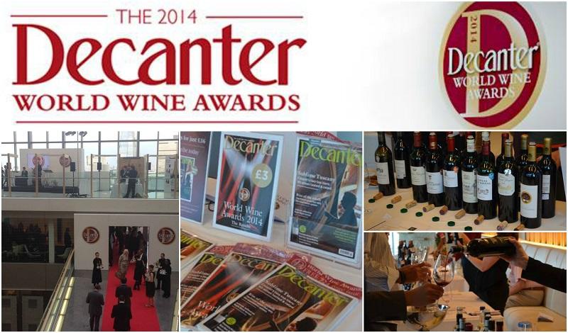 βραβεία οίνου Decanter 2014