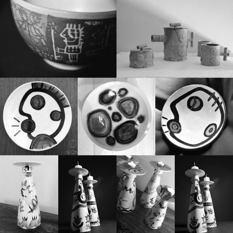 Λεώνη Γιαγδζόγλου, κεραμικά