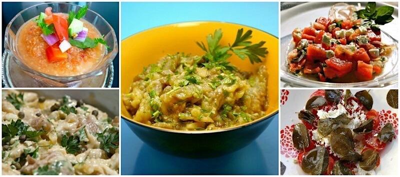 15 κρύα πιάτα για υψηλές θερμοκρασίες: ορεκτικά και πρώτα πιάτα