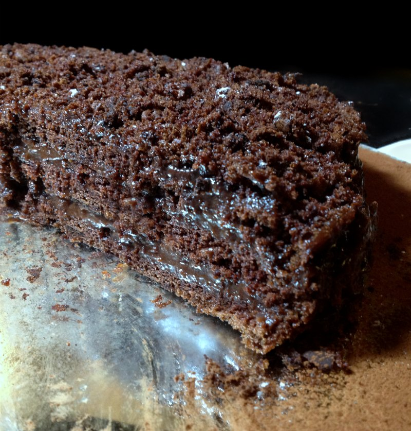 juicy chocolate blackout cake