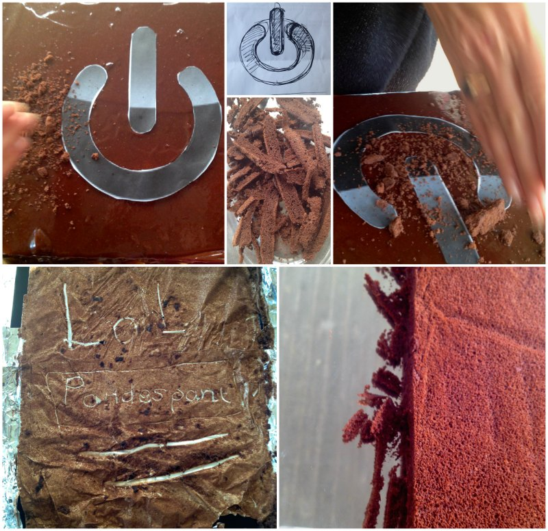 how to decorate chocolate blackout cake