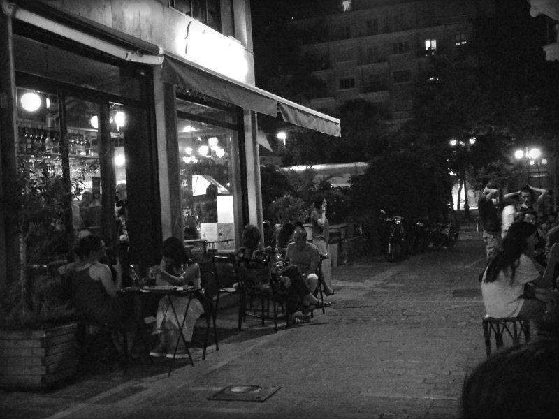 heteroclito wine bar - πεζόδρομος Φωκίωνος