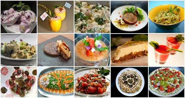 15 κρύα πιάτα για υψηλές θερμοκρασίες