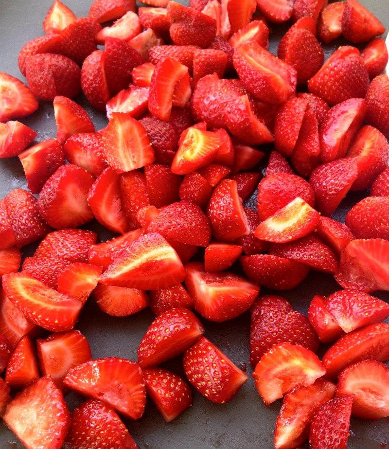 μαρμελάδα φράουλα - φράουλες