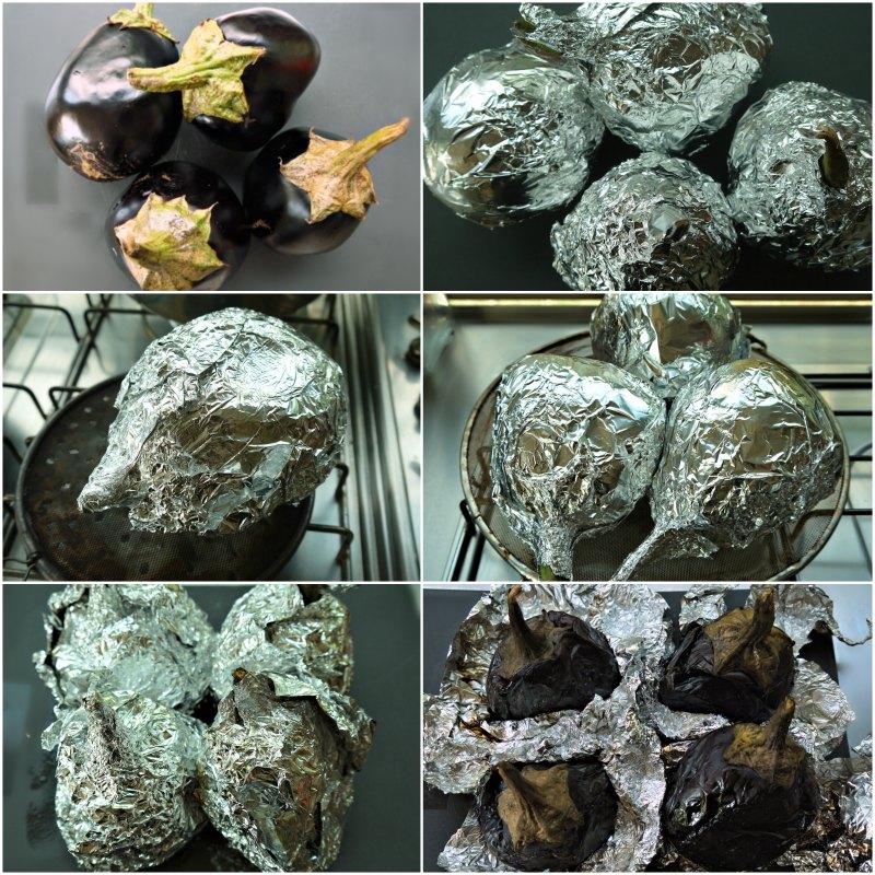 μελιτζανοσαλάτα καπνιστή - κάπνισμα μελιτζάνας