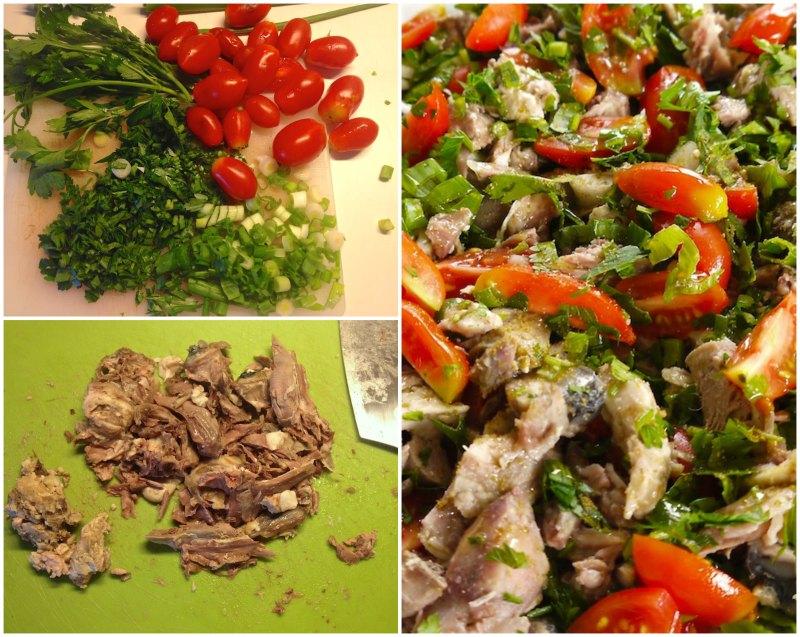 sogus: κεφαλάκι αρνιού κρύο με μυρωδικά, λαχανικά και κύμινο