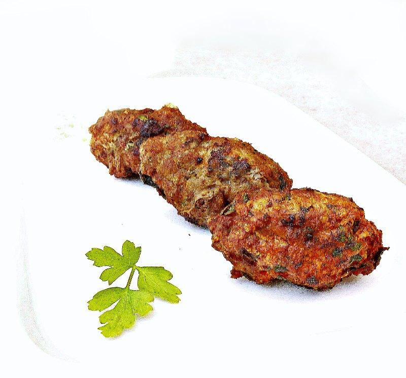 cypriot meatballs -keftedes