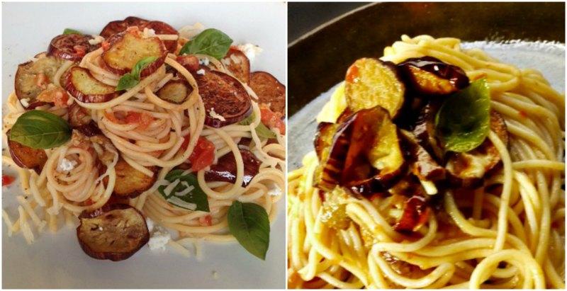 pasta alla norma - αυθεντικά σιτσιλιάνικα σπαγγέτι αλά νόρμα με μελιτζάνες