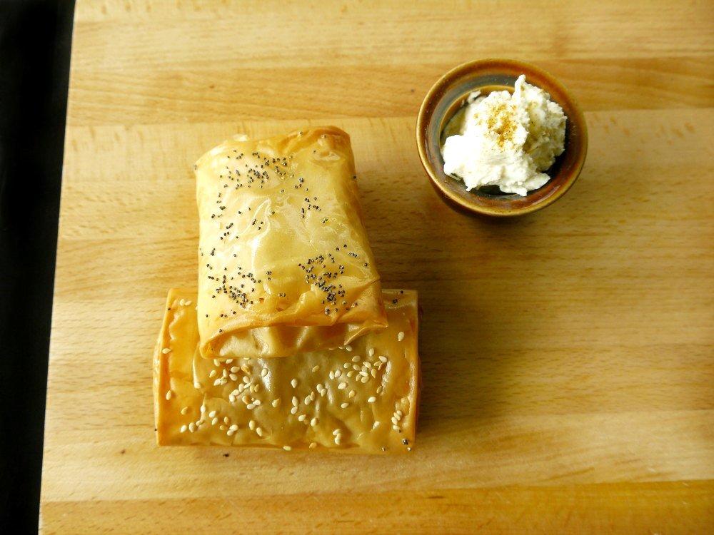 παστουρμαδόπιτα - πίτα Καισαρείας