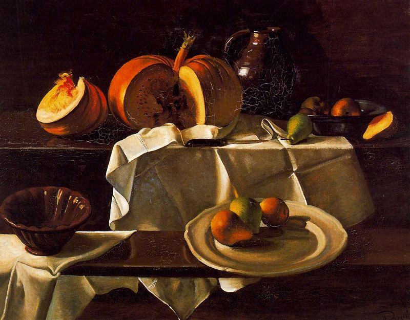 το μενού της κολοκύθας - still life with pumpkin, Andre Derain