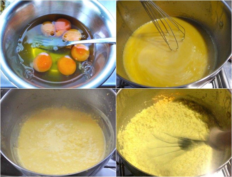παστίγια αυθεντική: κρέμα αυγών
