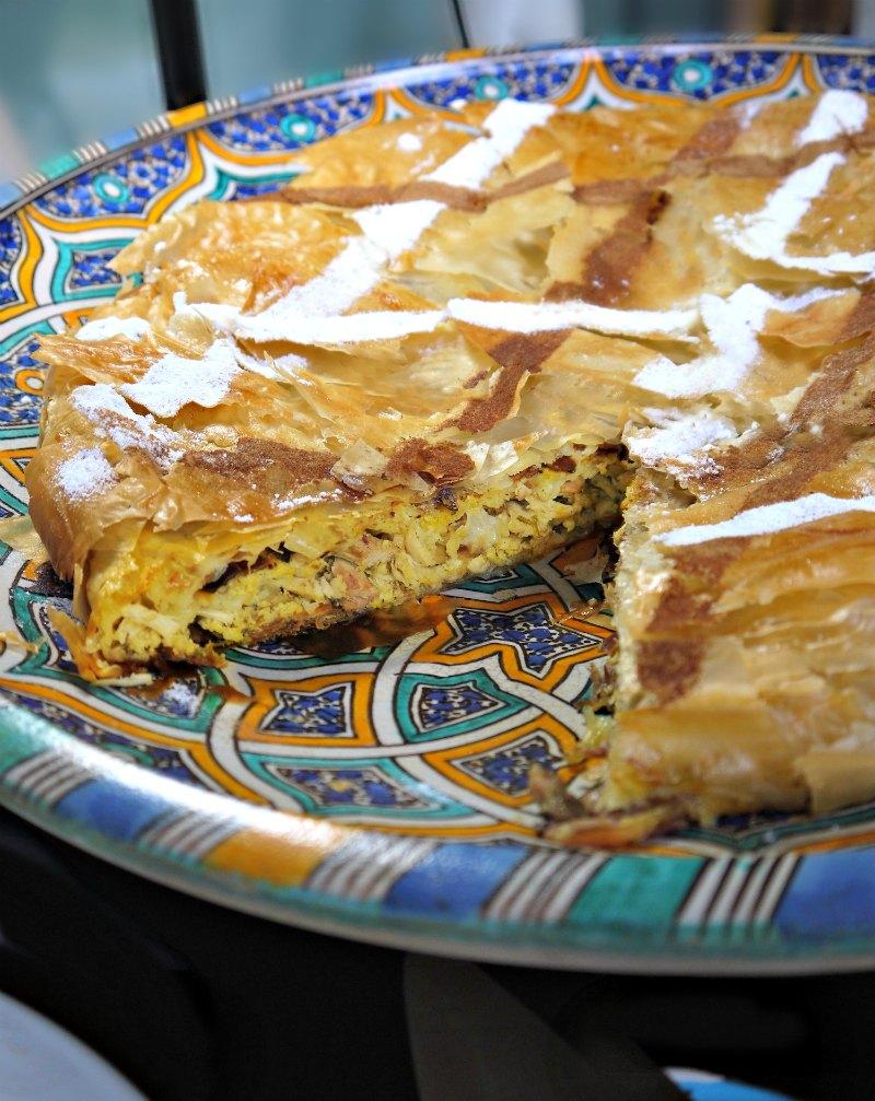 παστίγια αυθεντική μαροκινή πίτα