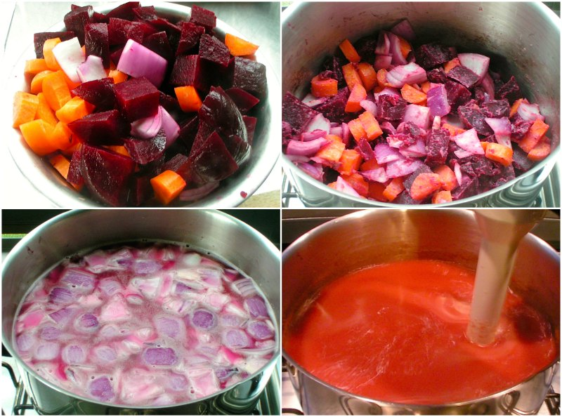 λάιτ σούπα με παντζάρια - αρωματική παντζαρόσουπα