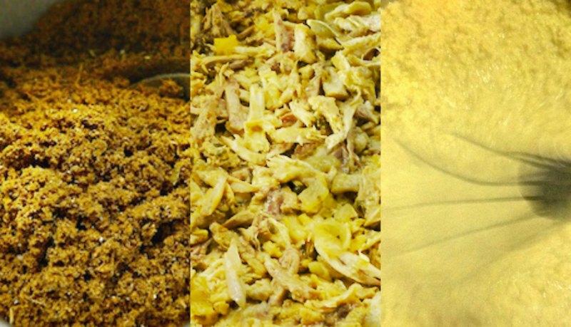 παστίγια: μπαχαρικά, κρέας, κρέμα