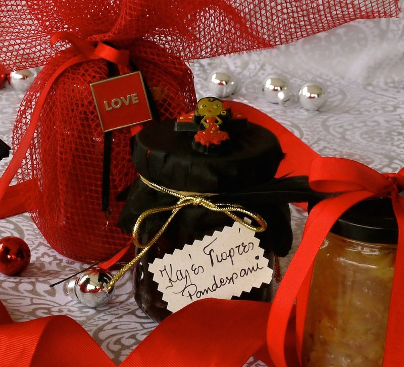 Homemade gourmet gifts