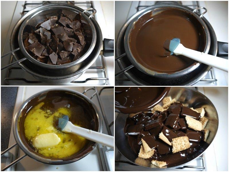 κορμός σοκολάτας - συνταγή