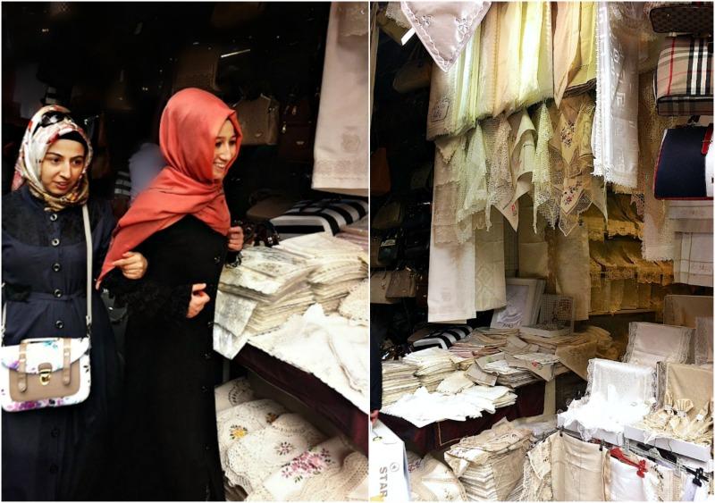 γάμος στην Κωνσταντινούπολη: μαντίλες και δαντέλες