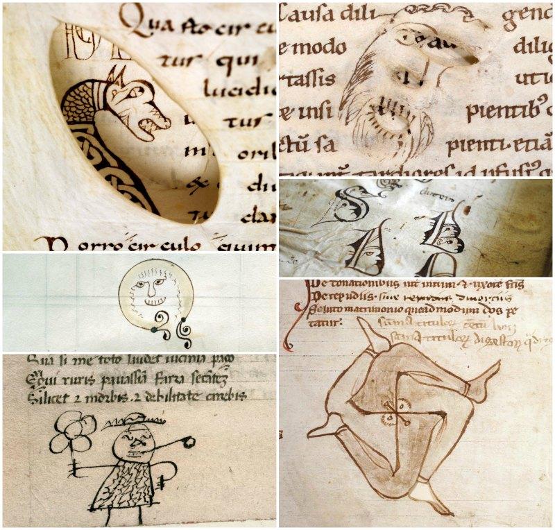 μεσαιωνικά σκίτσα