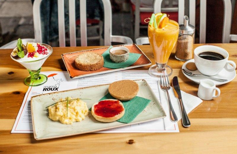 πρωινό - mama roux