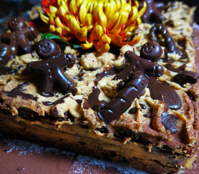 τούρτα μόκα :σοκολάτα και καφές