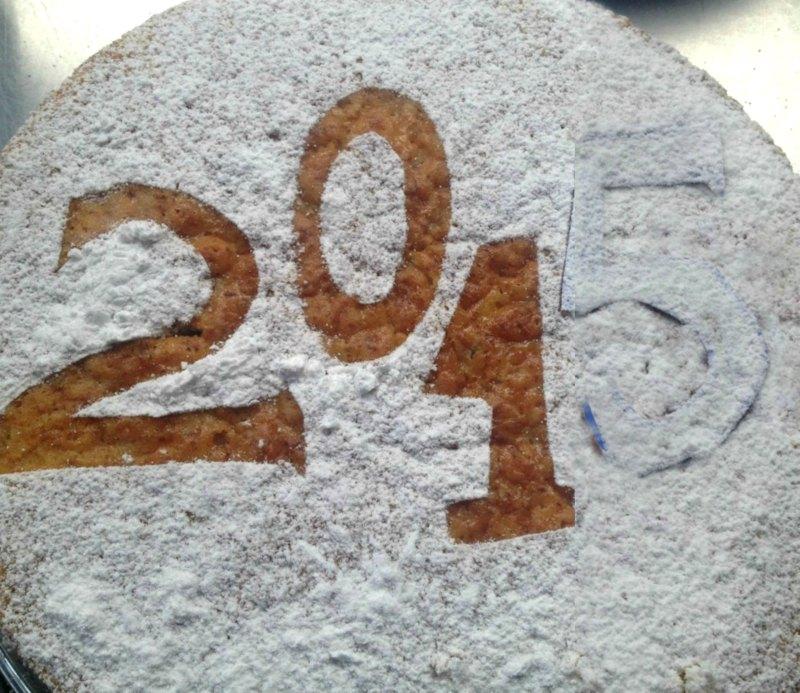 βασιλόπιτα κέικ - οι αριθμοί
