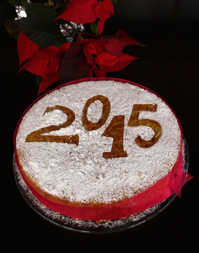 Εύκολη και γρήγορη, αρωματική βασιλόπιτα κέικ