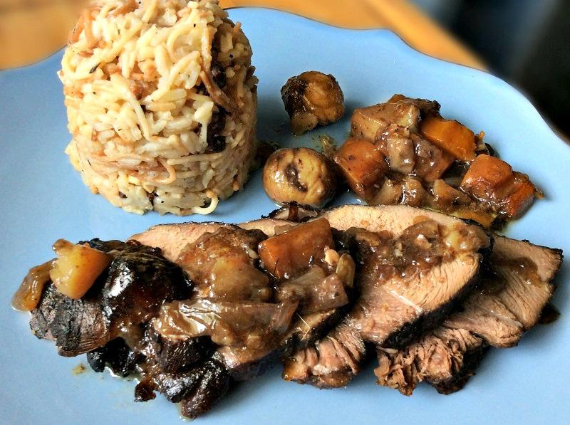 αγριογούρουνο στη γάστρα με κάστανα ή στην κατσαρόλα - κύρια πιάτα για γιορτές