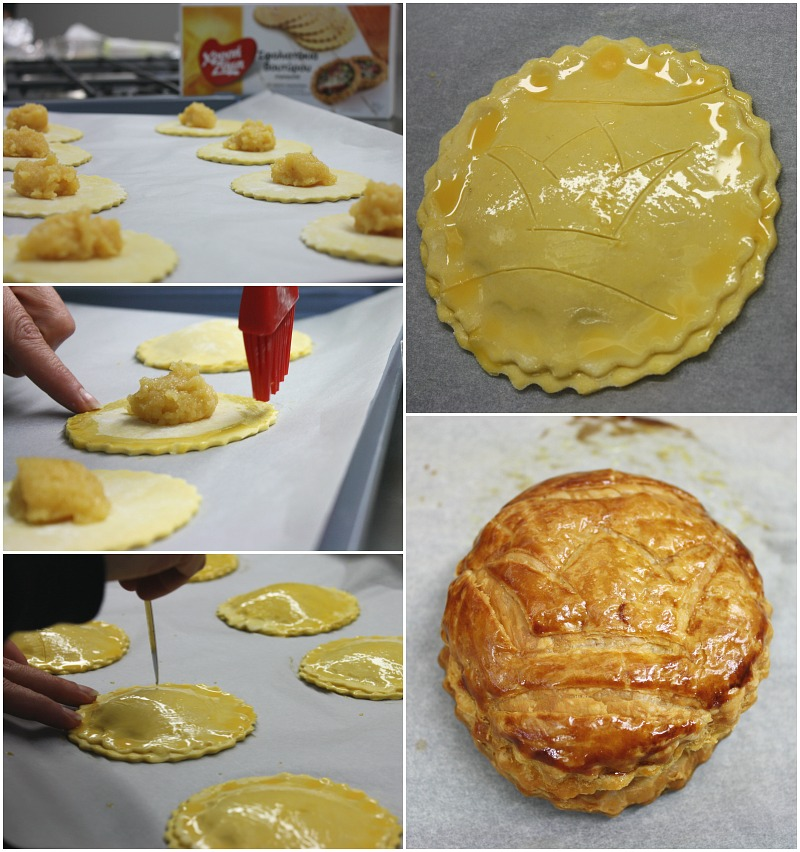 galette des rois -almond pie