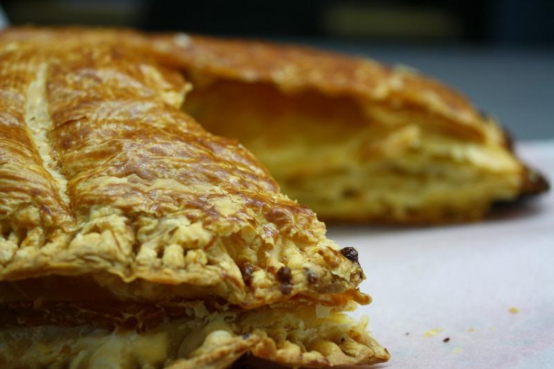 galette des rois -puff pastry