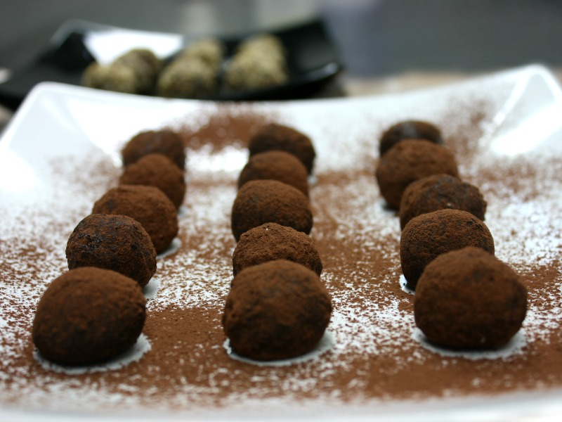 cocoa chocolate truffles