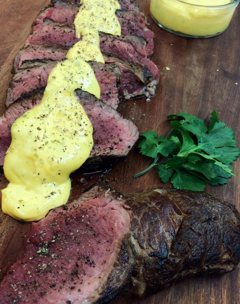 how to cook Sirloin with Béarnaise sauce