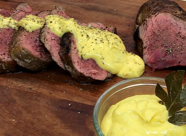 κόντρα φιλέτο με σάλτσα μπεαρνέζ: καρνιβορικό γκουρμέ