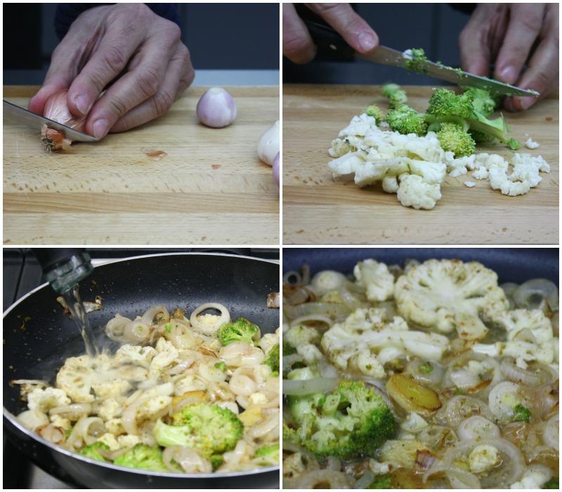 φιλέτο με λαχανικά