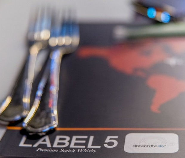 dinner in the sky with Label 5