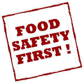 Food Safety Fisrt! - η ασφάλεια των τροφίμων