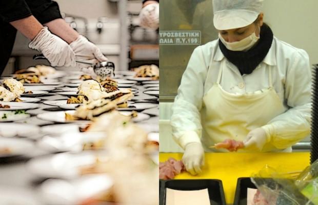 η ασφάλεια των τροφίμων (σταδια παρασκευής)