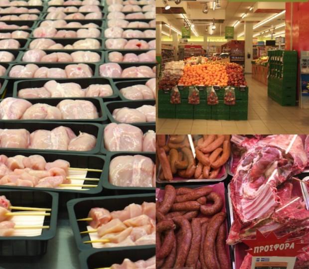 η ασφάλεια των τροφίμων - κρέας, λαχανικά