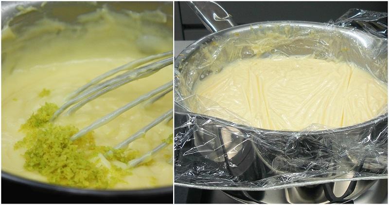 κρέμα ζαχαροπλαστικής -λεμόνι