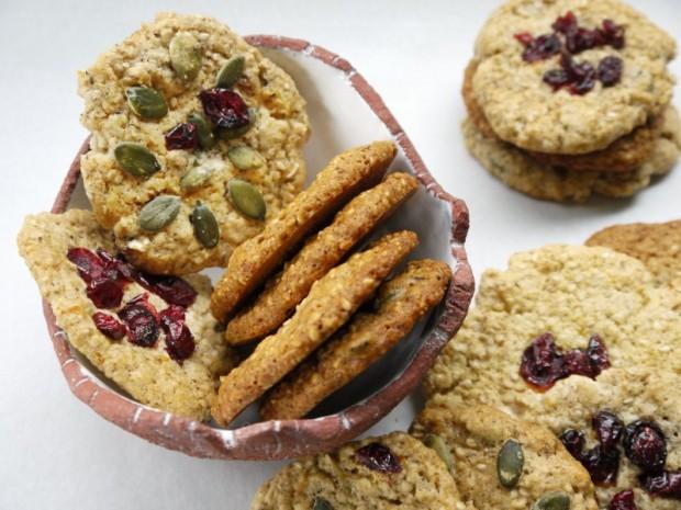 μπισκότα - μια διπλοψημένη ιστορία, μπισκότα με σουσάμι